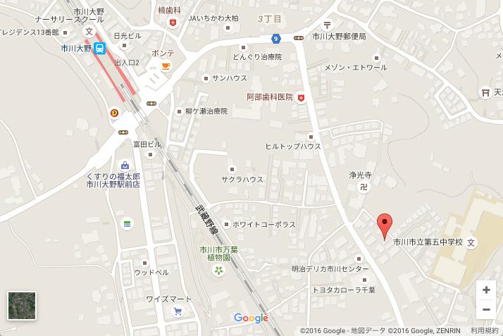HOPへの地図